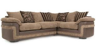Pillow Back Sofas by Destiny Left Hand Facing Pillow Back 2 Seater Corner Sofa Eternal