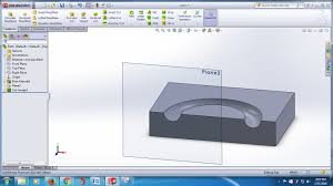 solidworks tutorial 19 solidworks swept cut features tool