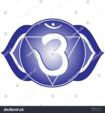 vector chakra series ajna third eye stock vector 40978561