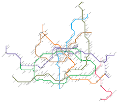 Korea Subway Map by Seoul Subway Rapid Transit Wiki Fandom Powered By Wikia