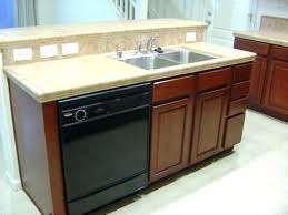 kitchen island with dishwasher and sink kitchen island with dishwasher eliseoart com