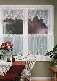 adorn your windows with these feminine classic tea rose tier
