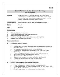 Daycare Job Description For Resume by Child Care Director Resume Facility Management Resume Topfacility