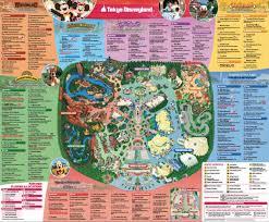 Disney Map Tokyo Disney Sea Map Disney Sea Map Kantō Japan