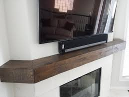 Floating Fireplace Mantels by 11 Best Distressed Floating Beam Mantel Shelves Images On