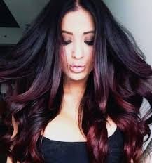 hombre style hair color for 46 year old women stunning ombre hair color ideas for blond red brown and black