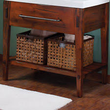 Knotty Pine Vanity Cabinet Pine Vanity Ebay