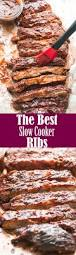 best slow cooker bbq ribs awesome eats pinterest