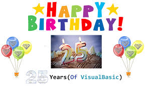happy 25th birthday vb net blog