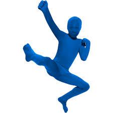 skin suits halloween blue skin suit child halloween costume walmart com