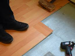 Laminate Flooring Gaps How To Install A Laminate Floor How Tos Diy