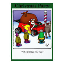 Funny Christmas Party - funny christmas cartoons invitations u0026 announcements zazzle