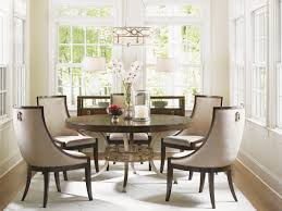 Round Dining Room Tables Tower Place Regis Round Dining Table Lexington Home Brands