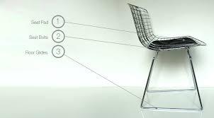 Bertoia Dining Chair Bertoia For Knoll Furniture Parts
