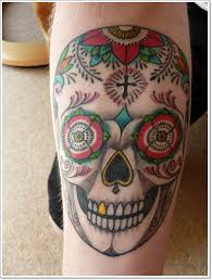 40 bloodcurdling day of the dead tattoos