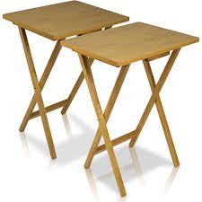 wooden folding table walmart stylish folding tv tray table tv tray table set black wood folding