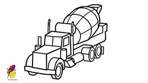 cement truck how to draw a cement truck youtube