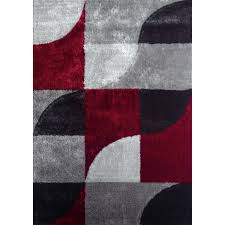 Red White Black Flag This Stunning Area Rug Is Easy To Clean And Vacuum While Adding