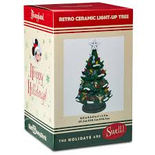 ceramic christmas tree your wdw store disney light up christmas tree mickey and