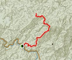 benton mackaye trail thunder rock cground to kimsey mountain