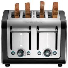 Dualit Stainless Steel Toaster Buy Dualit Architect 4 Slice Toaster Brushed Steel Black John