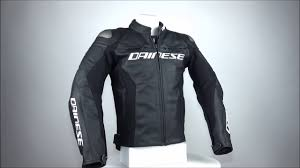 leather racing jacket dainese racing 3 leather jacket black championhelmets com youtube