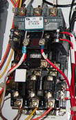 how to wire a 3 phase air compressor