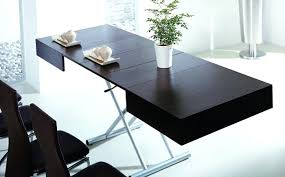 fold out coffee dining table transforming coffee dining table to tables and furniture space