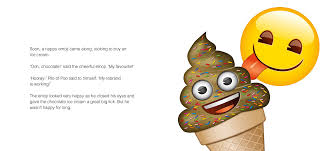ice cream emoji emoji pile of poo an official emoji story amazon co uk puffin