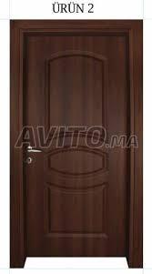 porte de chambre en bois porte chambre en bois à vendre à dans meubles et décoration avito ma