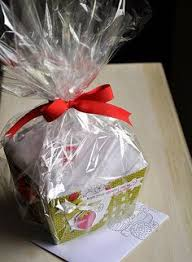 silver cellophane wrap idea simple and inexpensive wrap it up