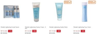 Serum Wardah Lightening Series review dan harga wardah lightening series terbaru agustus 2017