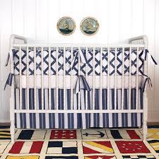 Navy Blue And White Crib Bedding Set White Crib Bumper Set 12 Photos Baby Crib