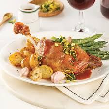 cuisiner cuisse de canard confite cuisses de canard confites au vin recettes cuisine et