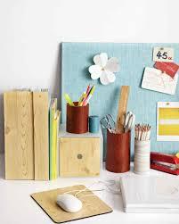 Diy Small Desk Ideas by Desk Organizing Ideas Martha Stewart