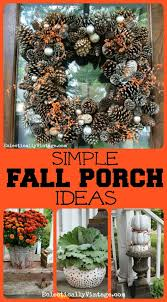 fall decorations for outside fall porch decorating ideas