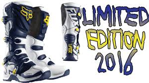 fox comp 5 motocross boots my new gear fox comp 5 limited edition se 2016 mx boots unboxing