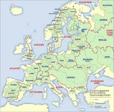 Map Of Europe And Capitals by List Of Rivers Of Europe Wikipedia