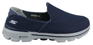 men s skechers performance go walk 3 shoe mens walking shoes ebay