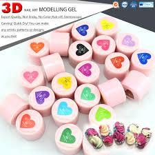40261 gdcoco nails gel canni 3d modelling nail art paint led uv