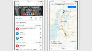 Chicago Public Transit Map by Ios 9 Brings Public Transit Directions To Apple Maps The Verge