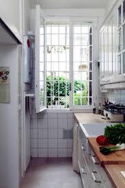 narrow kitchen narrow kitchen interior design ideas ofdesign