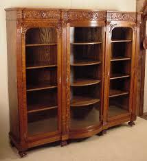 r j horner u0026 co triple door oak bookcase