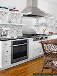 white backsplash kitchen white ceramic arabesque mosaic backsplash tile backsplash arabesque