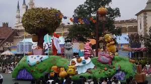 tokyo disneyland halloween 2014 with winnie the pooh and friends