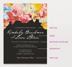 wedding invitations ideas 15 creative traditional wedding invitation wording sles apw