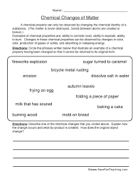 physical science worksheets have fun teaching