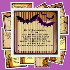kids halloween images printable halloween scavenger hunt 11 riddles and