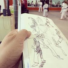 punctuating my everyday with sketches urban sketchers