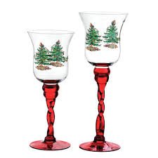 spode tree glass fluted footed candle holders reviews